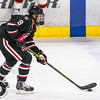 Pictured:  SCSU:  #9, Joey Benik, F, 5-10, 175, JR, Andover, MN