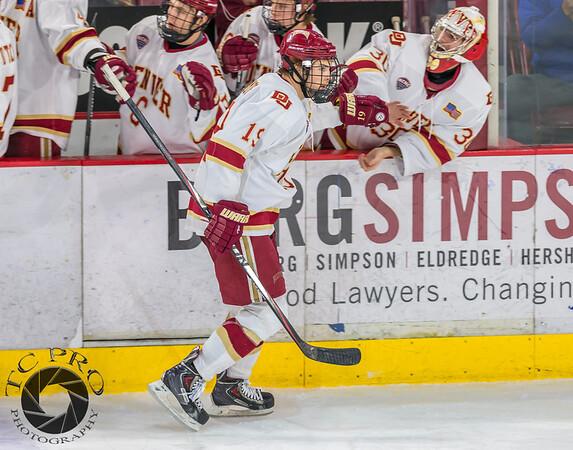 Pictured:  DU:  #19, Daniel Doremus, F, 6-0, 200, SR, Aspen, CO