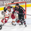 Pictured:  SCSU:  #35, Charlie Lindgren, G, 6-2, 190, SO, Lakeville, MN; #7, Niklas Nevalainen, D, 5-9, 175, SO, Pori, FIN;  DU:  #23, Matt Marcinew, F, 5-9, 177, SO, Calgary, ALB