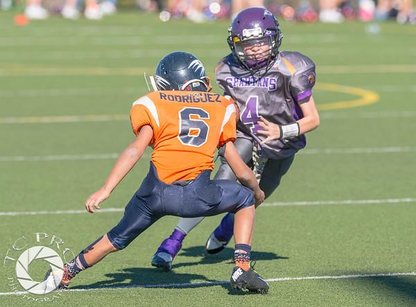 Spartan Black vs Hawk Orange - AYL 5th Grade-81