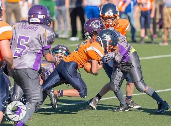 Spartan Black vs Hawk Orange - AYL 5th Grade-159