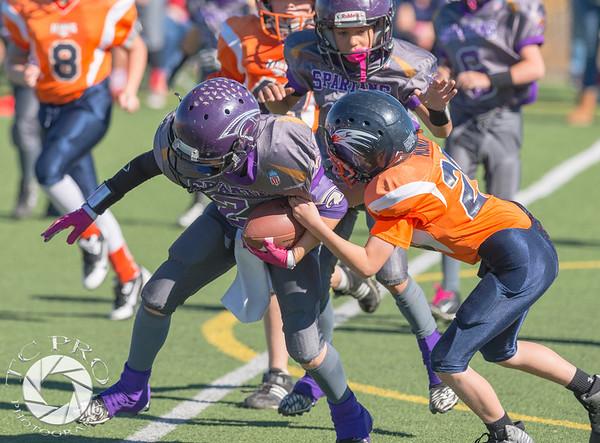Spartan Black vs Hawk Orange - AYL 5th Grade-30