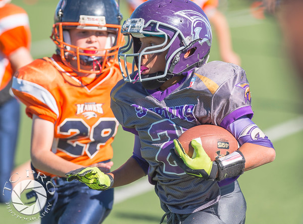 Spartan Black vs Hawk Orange - AYL 5th Grade-40
