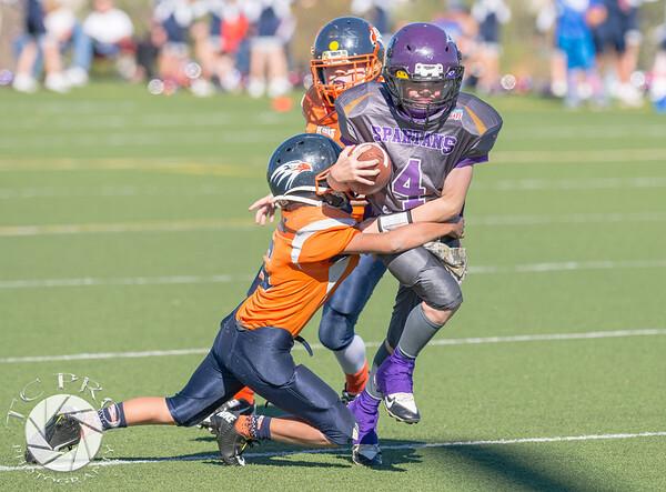 Spartan Black vs Hawk Orange - AYL 5th Grade-82