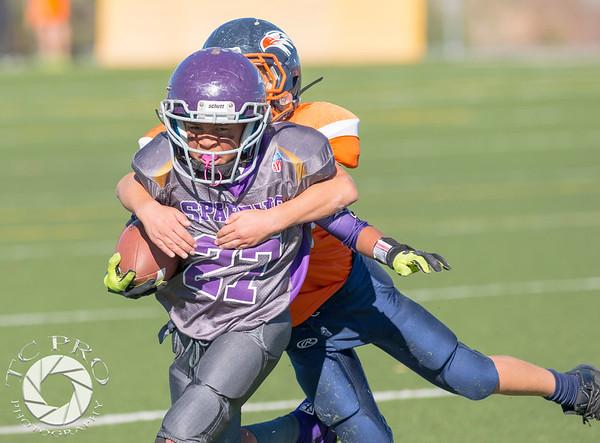 Spartan Black vs Hawk Orange - AYL 5th Grade-140