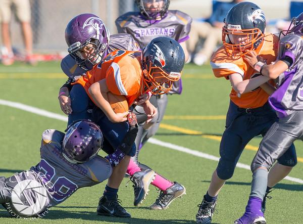 Spartan Black vs Hawk Orange - AYL 5th Grade-165