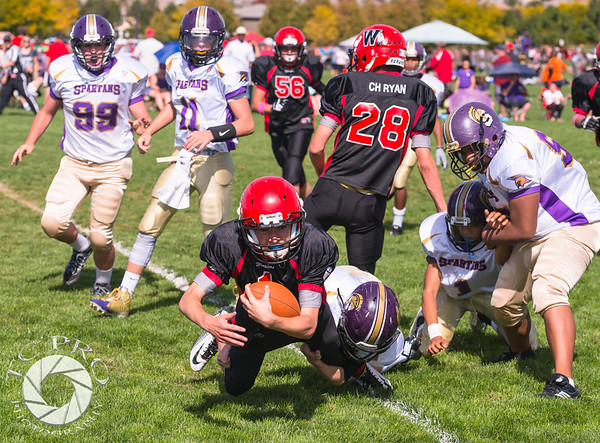 Spartan Purple vs Warrior Raven-14