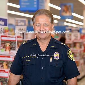 2015 Shop With A Cop at Walmart Keeaumoku