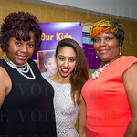 Shannon Wilkerson, Kendall Meiller and Coretta Bryant.