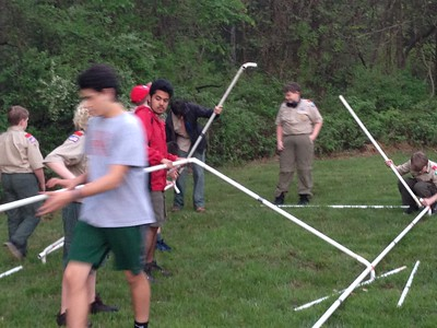 2016 Spring Camporee Lake Towhee Park