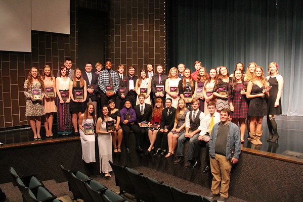 2015 Band Honors Banquet