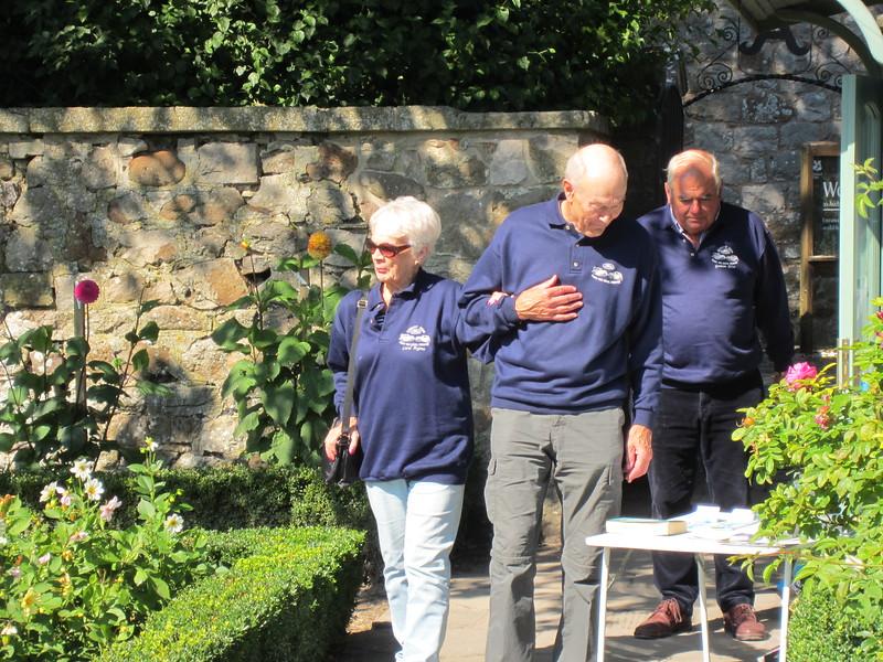 The formal Dahlia Garden at Avbury