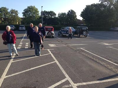 Heading into Sainsburys at Street for breakfast