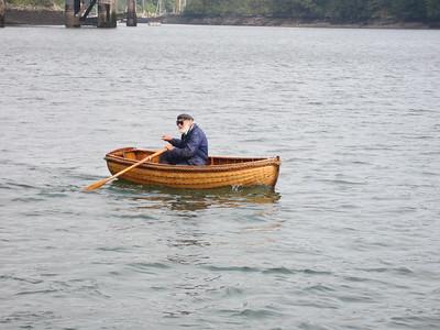 Captain Pugwash on the Fowey