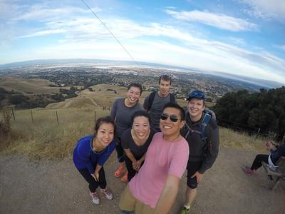 Climbing Mission Peaks!