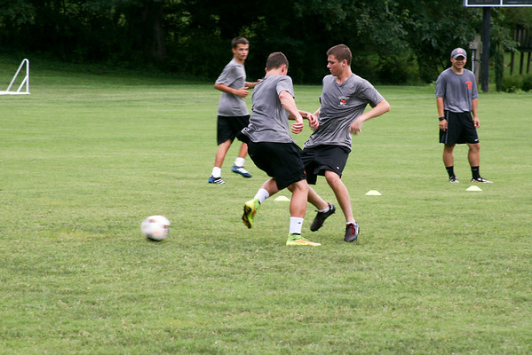 Soccer Camp Drills