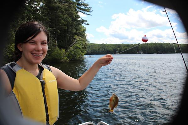 Fishing on The Lake!