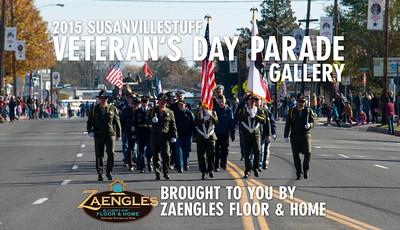 2015 Susanville Veterans Day Parade