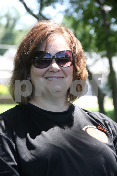 Hope Hartig was one of many  volunteers who assisted the numerous golfers who participated in the Swing for A Cure to raise money for diabetes. The event was held on Friday, June 19, 2015 at the Fort Dodge Country Club.