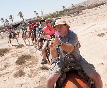 israel 2015 4 thurs 9.4.15 6 desert of zin 25 camels  6-1