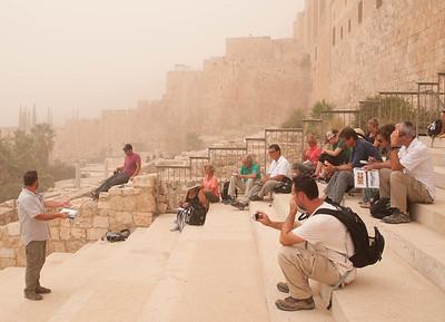 israel 9.8.15 south wall triple gate jesus entrance 1-1