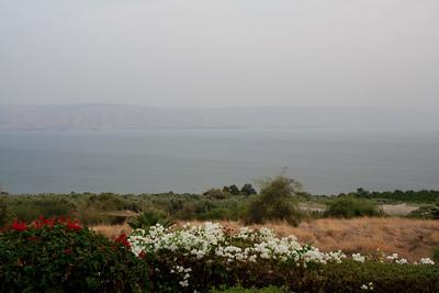 20 - mount of beatitudes on sea of galilee