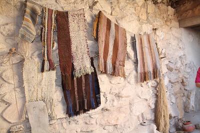 handmade scarves at nazareth village