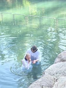pastor tim baptizing pat