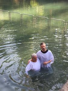 pastor tim baptizing bob