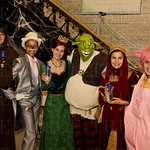 The Cast of Shrek The Musical from YPAS.