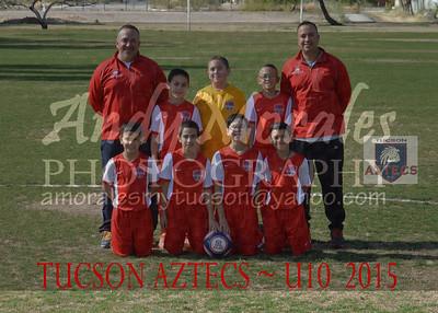 2015 Tucson AZTECS 10U boys