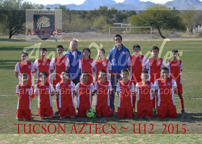 2015 Tucson AZTECS 12U Boys