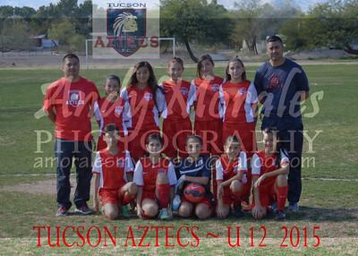 2015 Tucson AZTECS 12U Girls