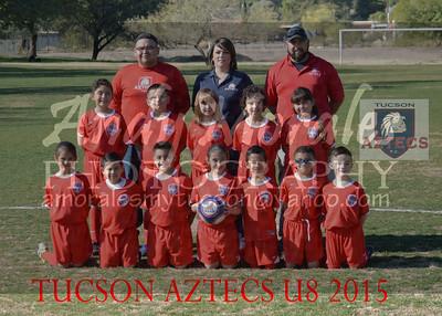 2015 Tucson AZTECS  8U