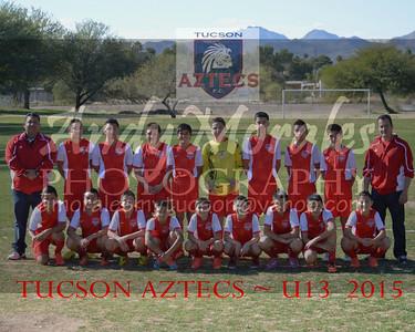 2015 Tucson AZTECS U13 boys