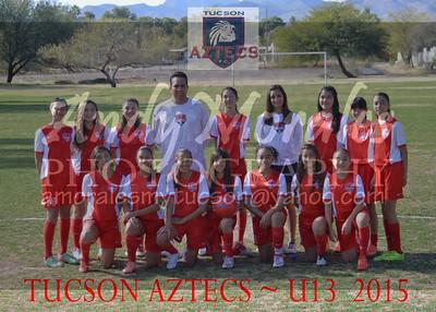 2015 Tucson AZTECS  U13 girls
