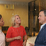 Tamela Compton, Jamie O\'Neill and the Executive Director Police Foundation Barry Denton engaged in a conversation.