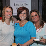 Angie Merrick, Carey Klain and Debbie Minniear. Debbie Minniear celebrated her birthday at the event.