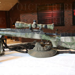 A Remington 700 was displayed.