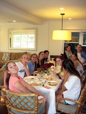 Team Dinner at Martino's 4/17