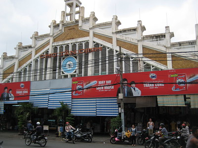 Tan Dinh Market - Church