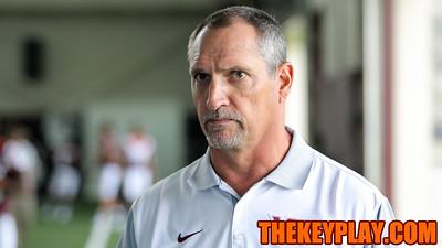 Defensive coordinator Bud Foster. (Mark Umansky/TheKeyPlay.com)