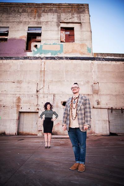 Katrina Blackstone and DJ Vadim
