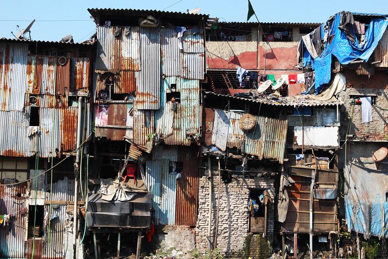 Daravi Slum. Mumbai, India