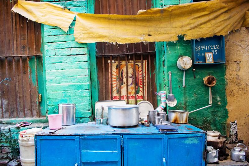 Chai Stand. Varanasi, India