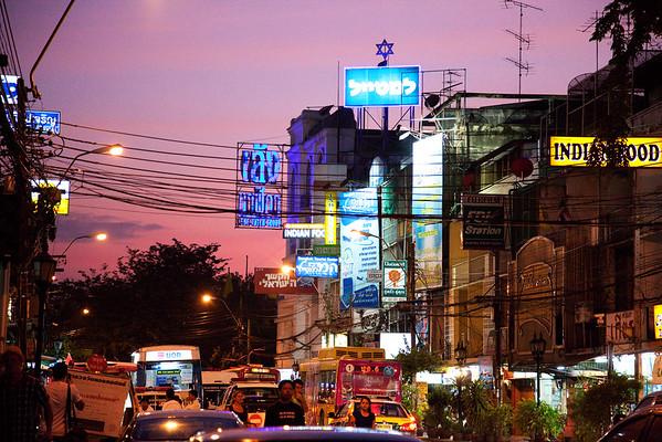 Bangkok Sunset. Thailand
