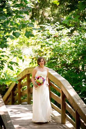 Emily + Brian: UNCA Botanical Garden Wedding