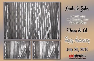 July 25, 2015 Linda John Diane Ed