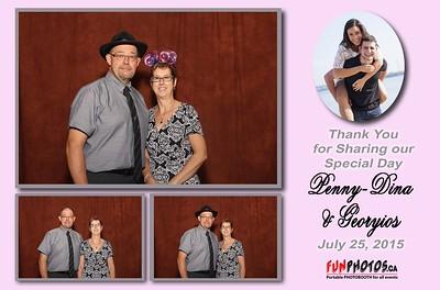 July 25, 2015 Penny-Dina & Georyios