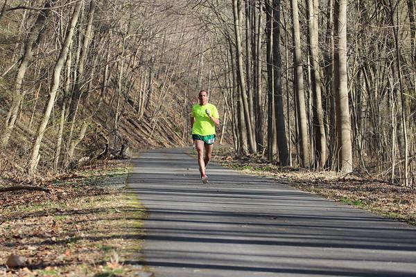 2015 Western Maryland Rail Trail Marathon & Half Marathon